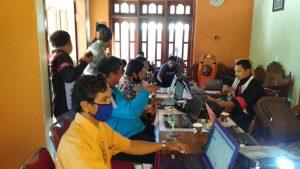 Pelatihan Pengisian Website Desa Grogol